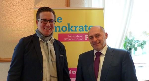 Christian Bengs und René Rock starten mit viel Energie in den Kommunalwahlkampf