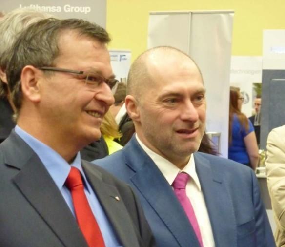 Jürgen Hoffmann, Bürgermeister der Stadt Rodgau und René Rock